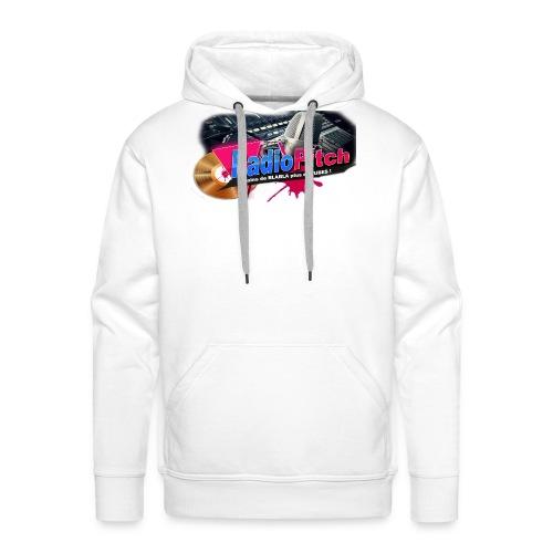 LOGO RADIOPITCH - Sweat-shirt à capuche Premium pour hommes