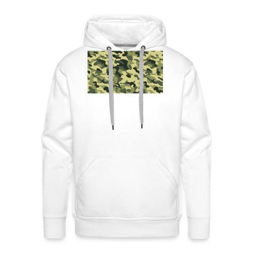 camouflage slippers - Mannen Premium hoodie