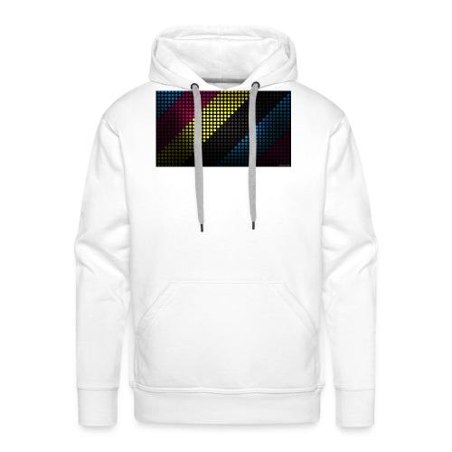 techno_dots_y_t_f-jpg - Men's Premium Hoodie