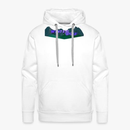 WINTERWOLF Season IV logo - Mannen Premium hoodie