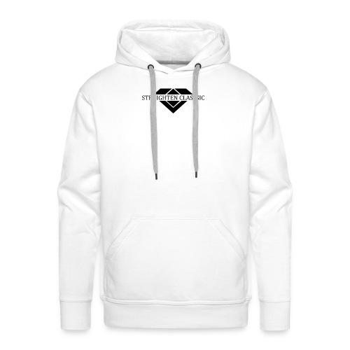 STRAIGHTEN CLASSIC - Männer Premium Hoodie