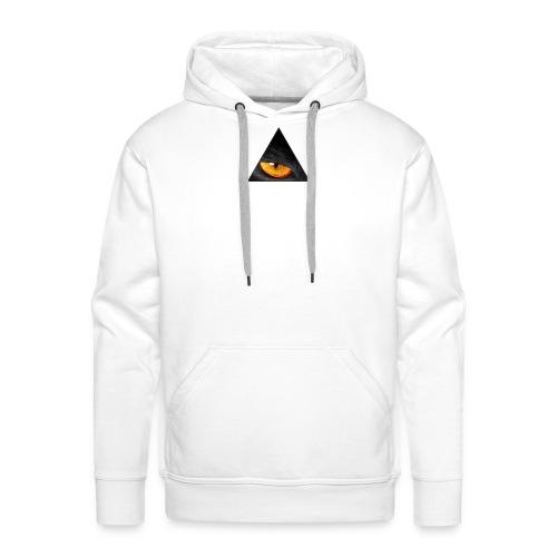 BLACK CAT EYE - Mannen Premium hoodie