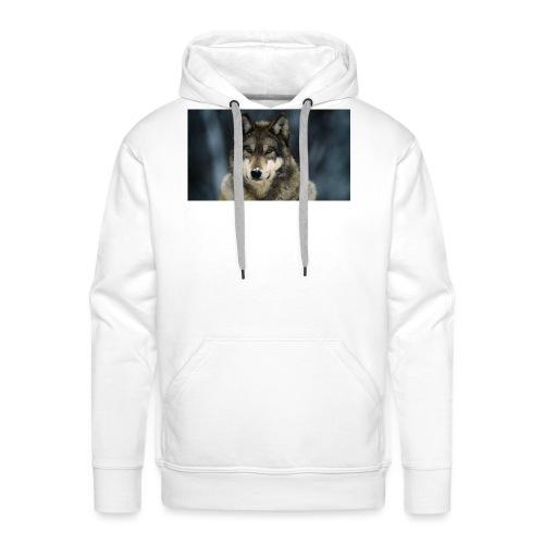 wolf shirt kids - Mannen Premium hoodie