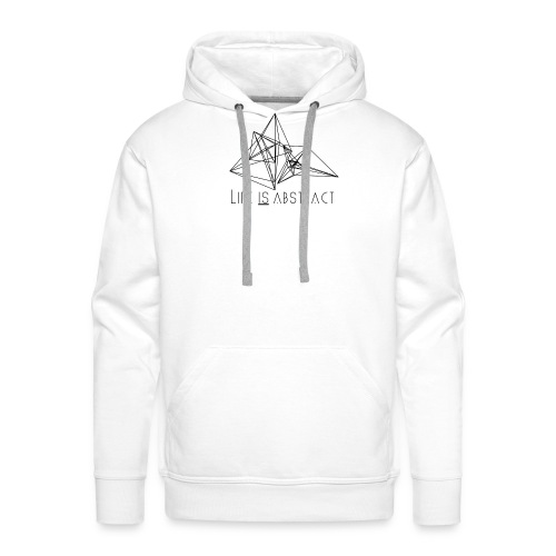 Life is abstract. - Männer Premium Hoodie