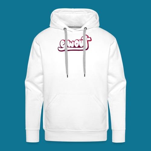 T-shirt (tienermaten) - Mannen Premium hoodie