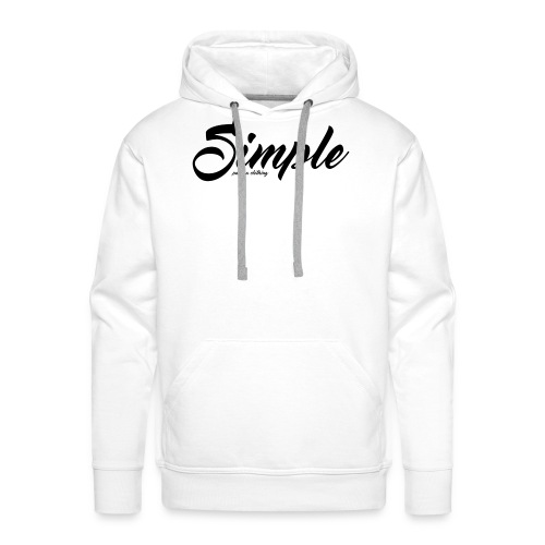 Simple: Clothing Design - Men's Premium Hoodie