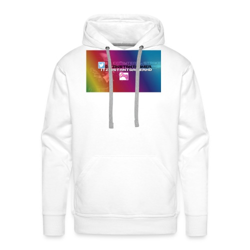 CHANNEL ART jpg - Men's Premium Hoodie
