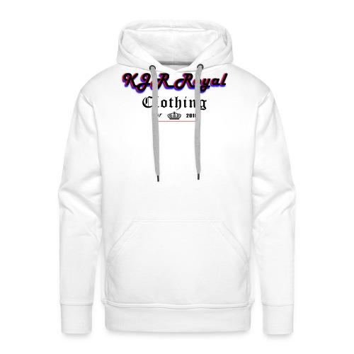 KJRRoyal T-shirt Special Design - Men's Premium Hoodie