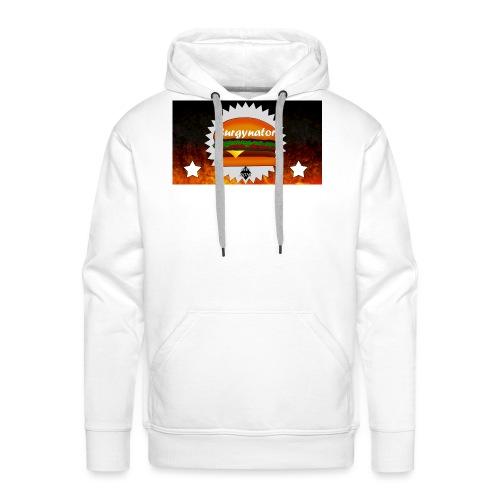 BURGYNATOR - Männer Premium Hoodie