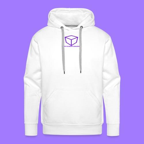 curtdoespcgaming logo #2 - Men's Premium Hoodie