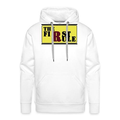 First Rule No Rule - Männer Premium Hoodie