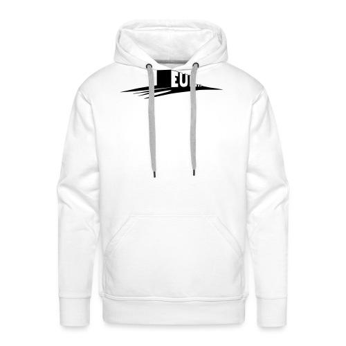 euh - Sweat-shirt à capuche Premium pour hommes