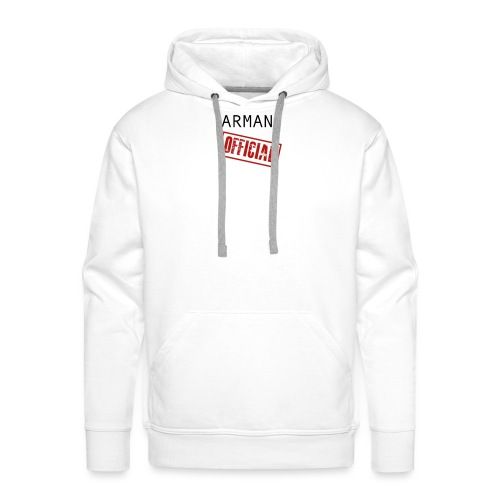 OFFICAL ARMAN - Mannen Premium hoodie
