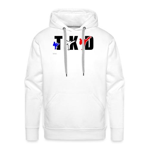 Design Taekwondo - Sweat-shirt à capuche Premium pour hommes