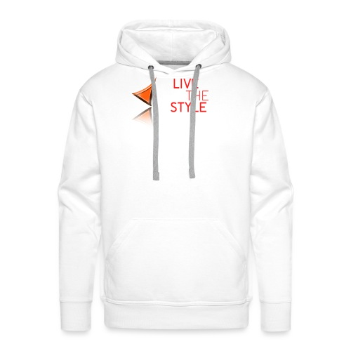 Live The Style - Men's Premium Hoodie