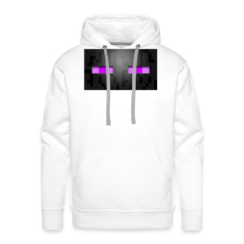 the enderman - Sweat-shirt à capuche Premium pour hommes