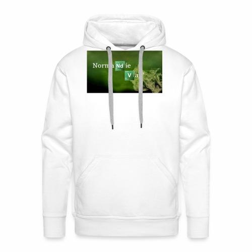 Normandie Vap' - Sweat-shirt à capuche Premium pour hommes