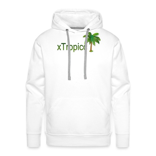 tropicc - Sweat-shirt à capuche Premium pour hommes