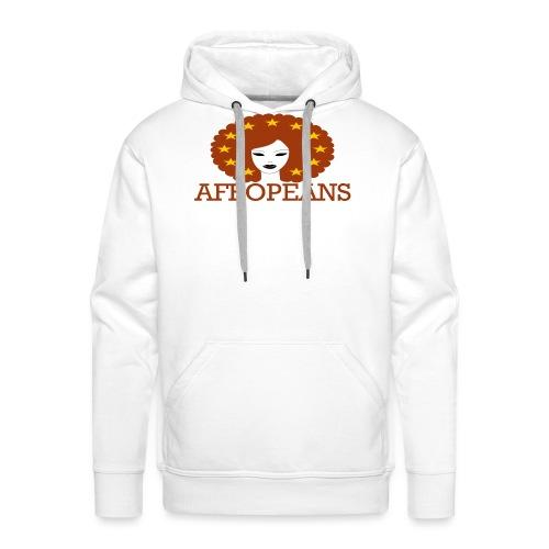 Afropeans Terracota - Mannen Premium hoodie
