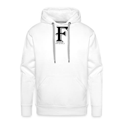 FOriginalsNoBack png - Sweat-shirt à capuche Premium pour hommes