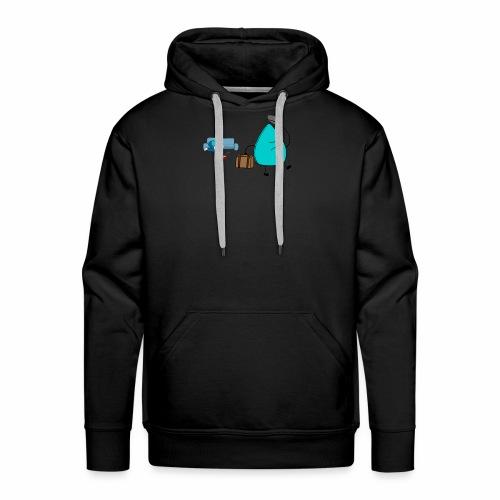 plectrumblauw - Mannen Premium hoodie