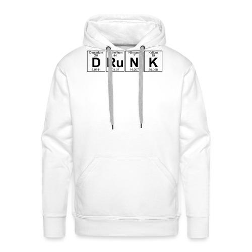 D-Ru-N-K (drunk) - Men's Premium Hoodie