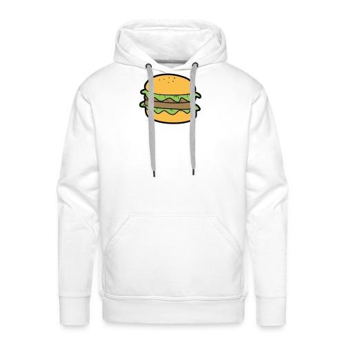 BurgerShirt - Sweat-shirt à capuche Premium pour hommes