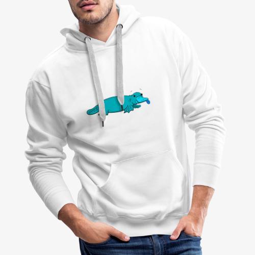 Platypus. - Sweat-shirt à capuche Premium pour hommes