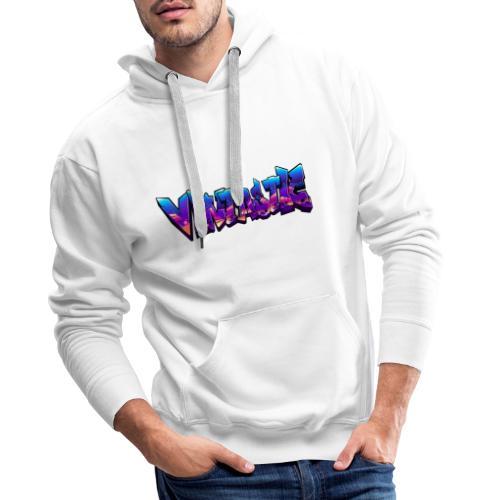 Vintastic Graffiti - Mannen Premium hoodie