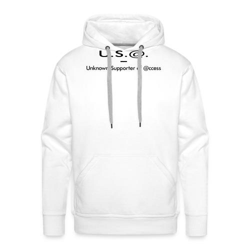 U.S.@. - Unknown Supporter of @ccess - Männer Premium Hoodie