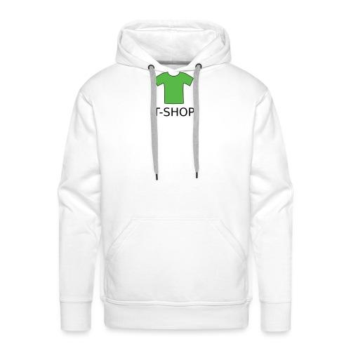 T-SHOP LOGO - Männer Premium Hoodie
