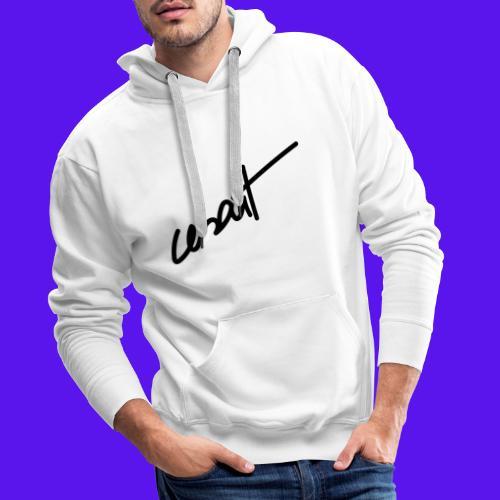 cesart signature - Sweat-shirt à capuche Premium pour hommes