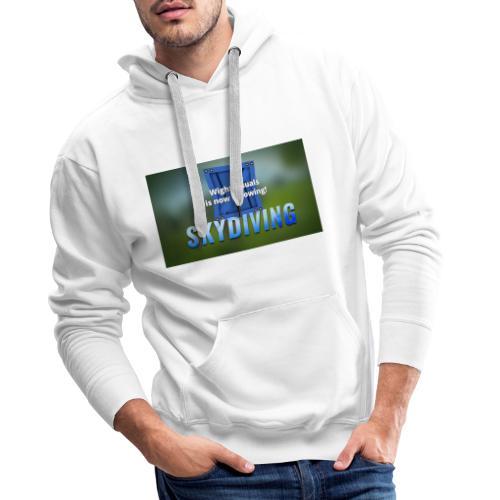 skydiving - Männer Premium Hoodie