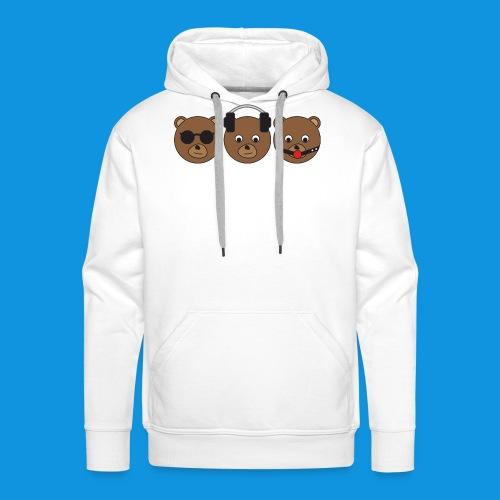 3 Wise Bears - Men's Premium Hoodie