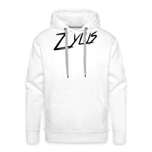 zylus logo 1 - Men's Premium Hoodie