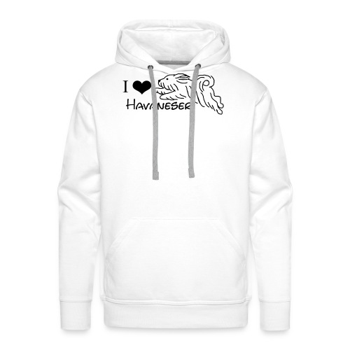 I LOVE HAVANESER - Männer Premium Hoodie