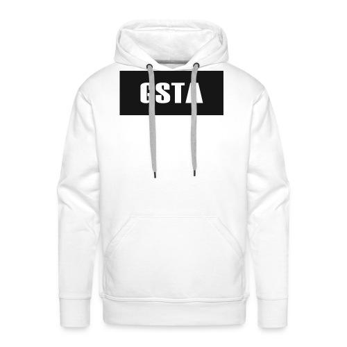 GSTA White Shirt 9-12yrs - Men's Premium Hoodie