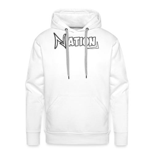 Nation Logo Design - Men's Premium Hoodie