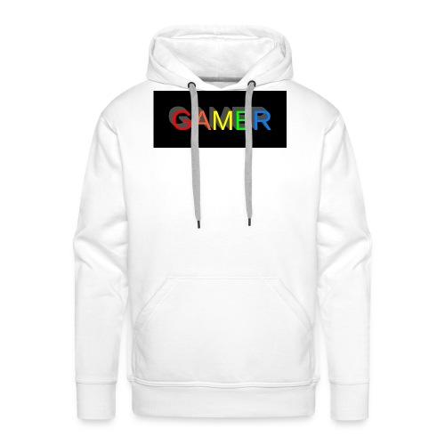 gamer shirt logo - Men's Premium Hoodie
