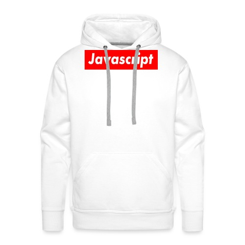 Javascript - Men's Premium Hoodie