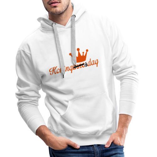 Koningsdag klein - Mannen Premium hoodie