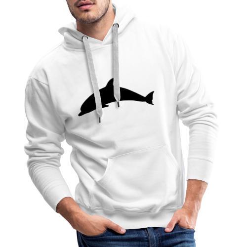 T-Shirt Dolphin - Männer Premium Hoodie