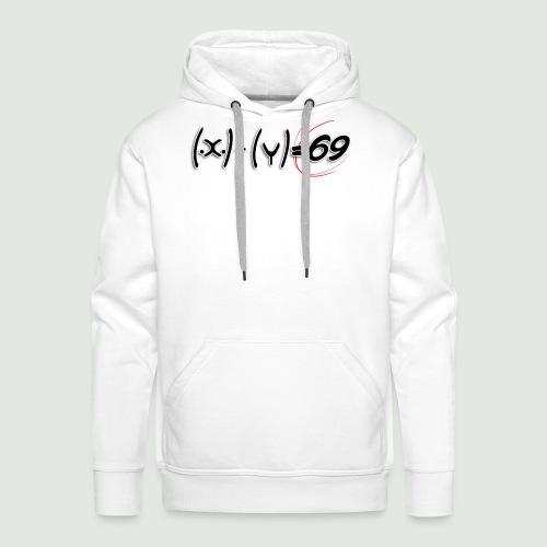 69 - Sweat-shirt à capuche Premium pour hommes