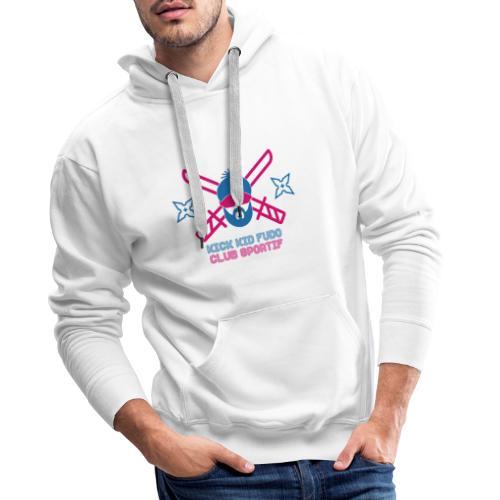 Calque 12 3x - Sweat-shirt à capuche Premium pour hommes