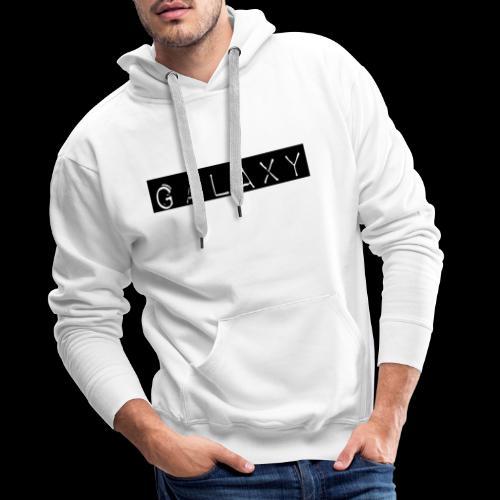 GALAXY png avant - Men's Premium Hoodie