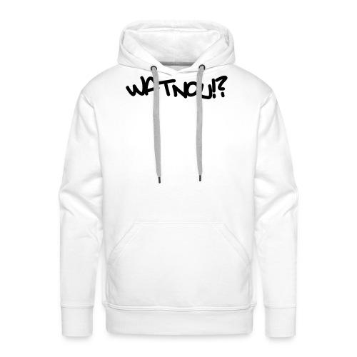 watnou - Mannen Premium hoodie