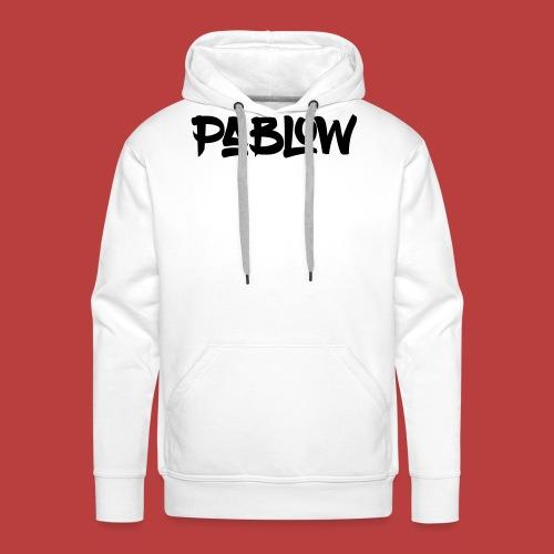Pablow Logo - Mannen Premium hoodie