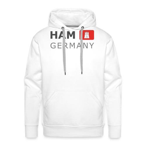 HAM GERMANY HHF dark-lettered 400 dpi - Men's Premium Hoodie