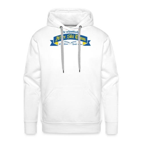 Apré Ski Team Sweden - Premiumluvtröja herr