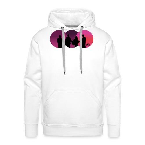 Motiv Cheerio Joe pink - Männer Premium Hoodie